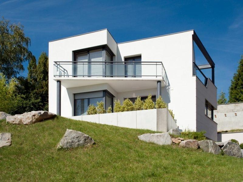 Maison toit plat 5