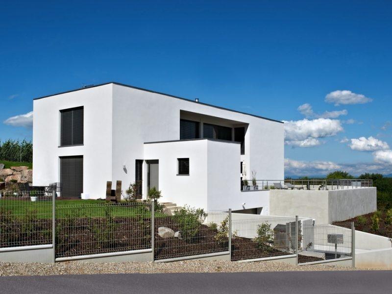 Maison toit plat 8