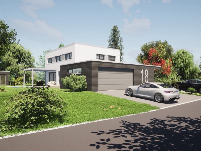 maison passive à Horbourg 68