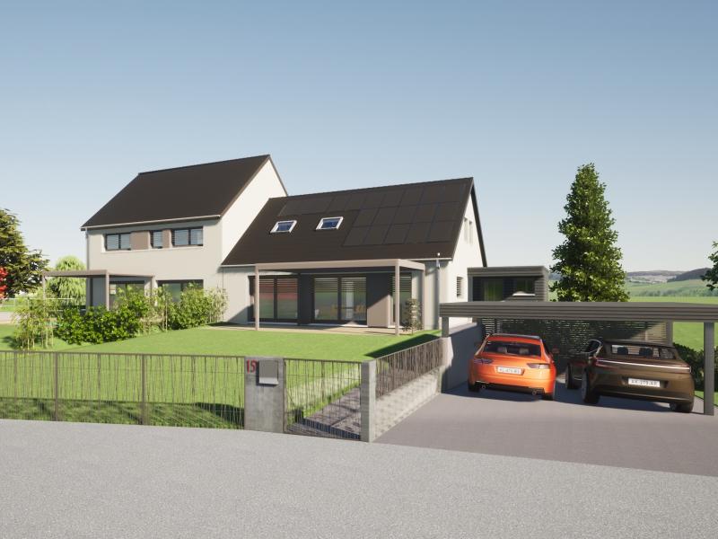 Maison passive proche Strasbourg