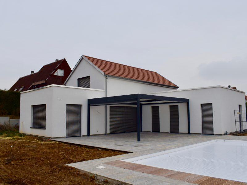 maisons passives r alis es en alsace par un constructeur maisons prestige. Black Bedroom Furniture Sets. Home Design Ideas