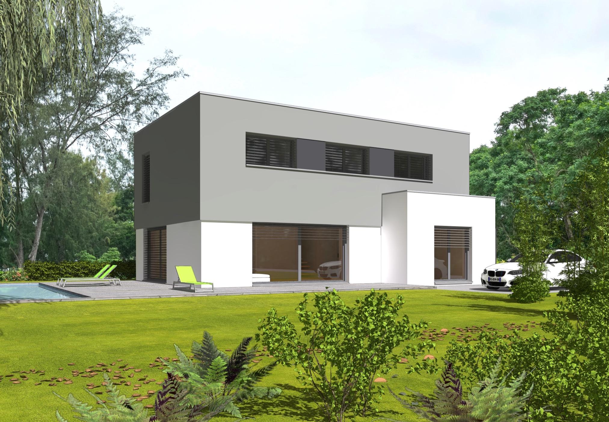 Maison passive seule de 150 m2 construire sur votre for Prix maison seule